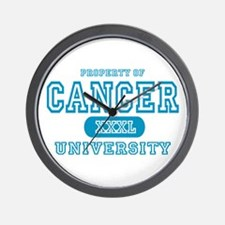 Cancer University Property Wall Clock