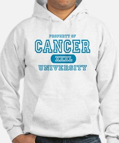 Cancer University Property Hoodie
