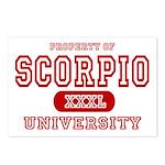 Scorpio University Property Postcards (Package of