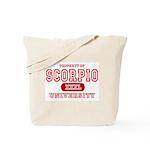 Scorpio University Property Tote Bag