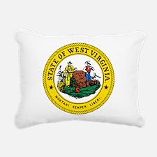 Great Seal of West Virginia Rectangular Canvas Pil