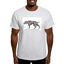 Wiemaraner Ash Grey T-Shirt