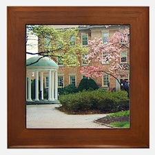 Cute University Framed Tile