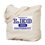 Leo University Property Tote Bag