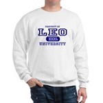 Leo University Property Sweatshirt