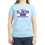 Leo University Property Women's Pink T-Shirt