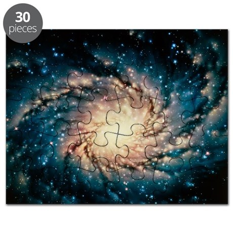 Artwork of the Milky Way, our galaxy - Puzzle
