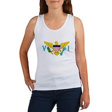 Flag of US Virgin Islands Women's Tank Top