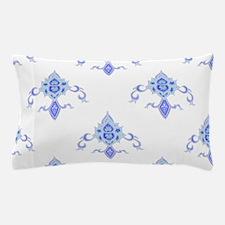 Periwinkle Fleur Pillow Case