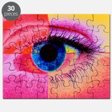 Human eye - Puzzle