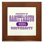 Sagittarius University Framed Tile