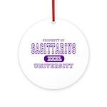 Sagittarius University Ornament (Round)
