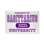 Sagittarius University Rectangle Magnet (10 pack)
