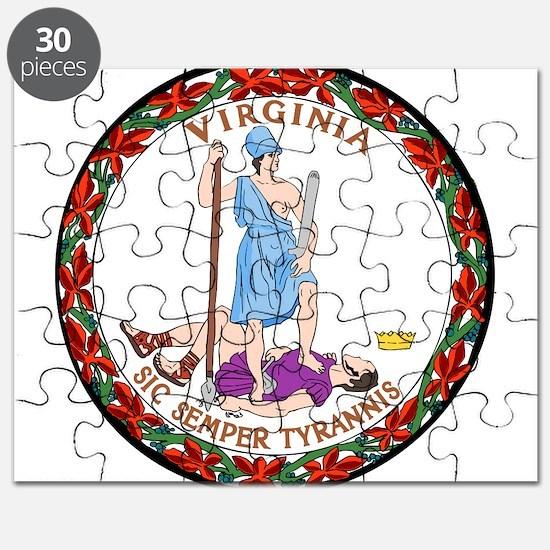 Great Seal of Virginia Puzzle