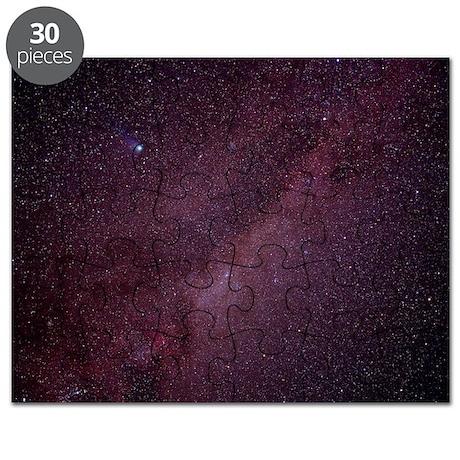 Milky Way showing Comet Halley - Puzzle