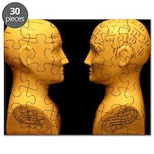 Phrenology busts - Puzzle