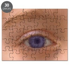 Pixellated eye - Puzzle