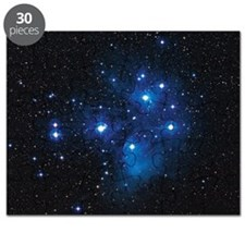 Pleiades star cluster - Puzzle
