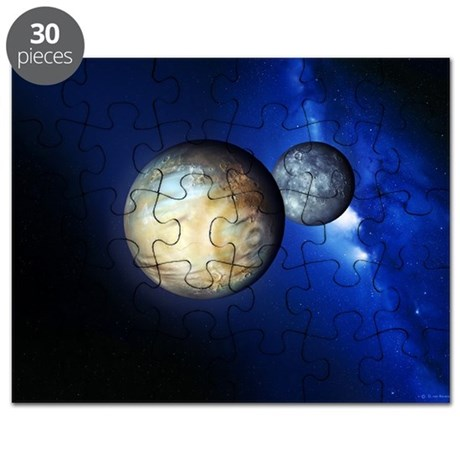 Pluto and Charon - Puzzle
