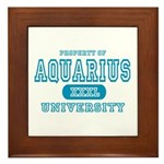 Aquarius University Property Framed Tile