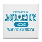 Aquarius University Property Tile Coaster