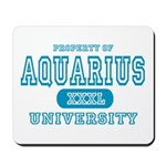 Aquarius University Property Mousepad