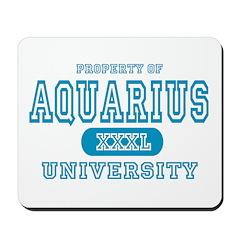 Aquarius University Property Mousepad