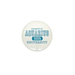 Aquarius University Property Mini Button (10 pack)