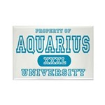 Aquarius University Property Rectangle Magnet
