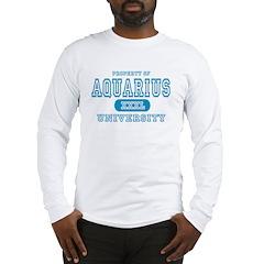 Aquarius University Property Long Sleeve T-Shirt