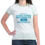 Aquarius University Property Jr. Ringer T-Shirt
