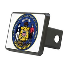 Great Seal of Wisconsin Hitch Cover