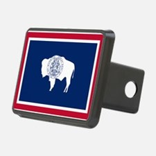 Flag of Wyoming Hitch Cover
