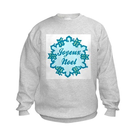 Joyeux Noel Kids Sweatshirt