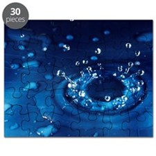 Water droplet impact, sequence - Puzzle