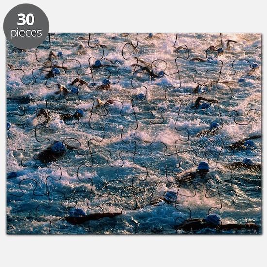 Triathlon swimmers - Puzzle