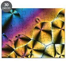 Vitamin C crystals - Puzzle