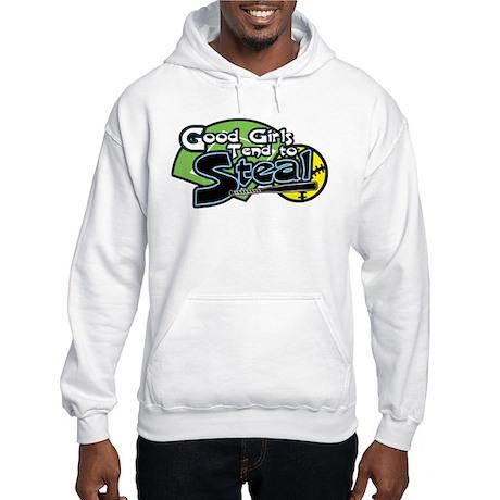 Softball Good Girls Steal Hooded Sweatshirt