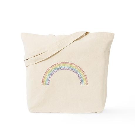I Believe In Rainbows Tote Bag