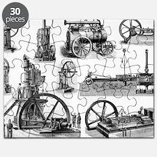 19th century steam engines - Puzzle