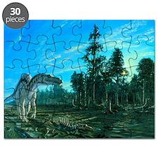Artwork of a Maiasaura dinosaur - Puzzle