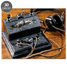 Crystal radio set - Puzzle