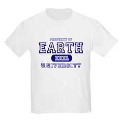 Earth University Property Kids T-Shirt