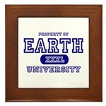 Earth University Property Framed Tile
