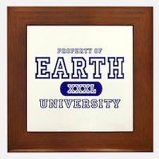 Earth University Property Framed Tile