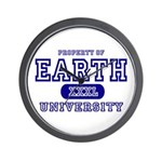 Earth University Property Wall Clock