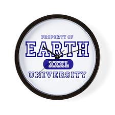 Earth University Property Wall Clock