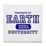 Earth University Property Tile Coaster