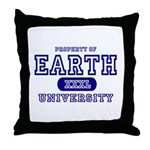 Earth University Property Throw Pillow