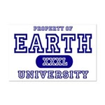 Earth University Property Mini Poster Print